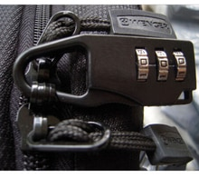 1 Uds., Maleta de viaje, combinación de candados de bloqueo, funda, bolsa con contraseña, código, candados, negro