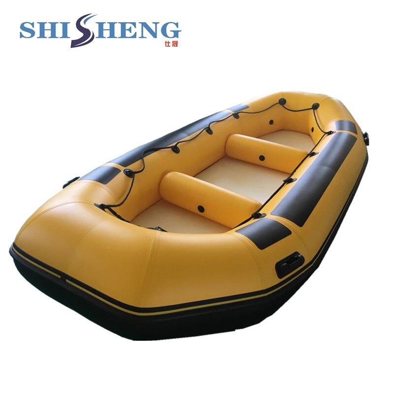 قارب تجديف قابل للنفخ لـ 8 أشخاص, قابل للنفخ