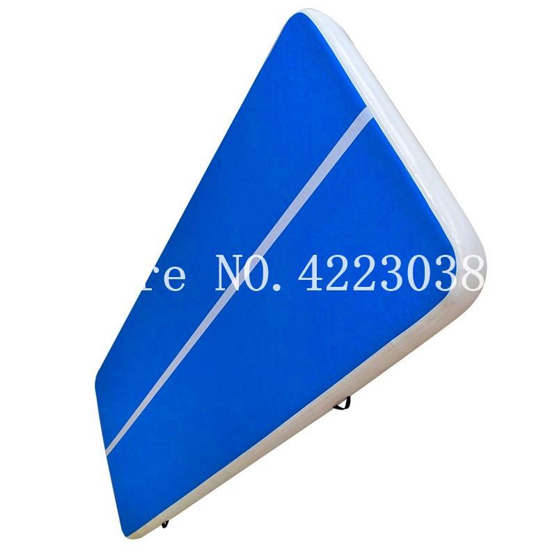 Envío Gratis 6x1x0,2 m alfombra inflable de pista de aire para la venta precio de fábrica trampolín inflable de aire pista