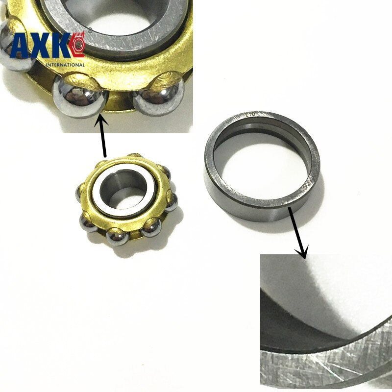 Envío Gratis, L17 17WE FBL17 ND17H, Bola de contacto angular magnética de 17x40x10mm, rodamiento de motor de imán permanente separado