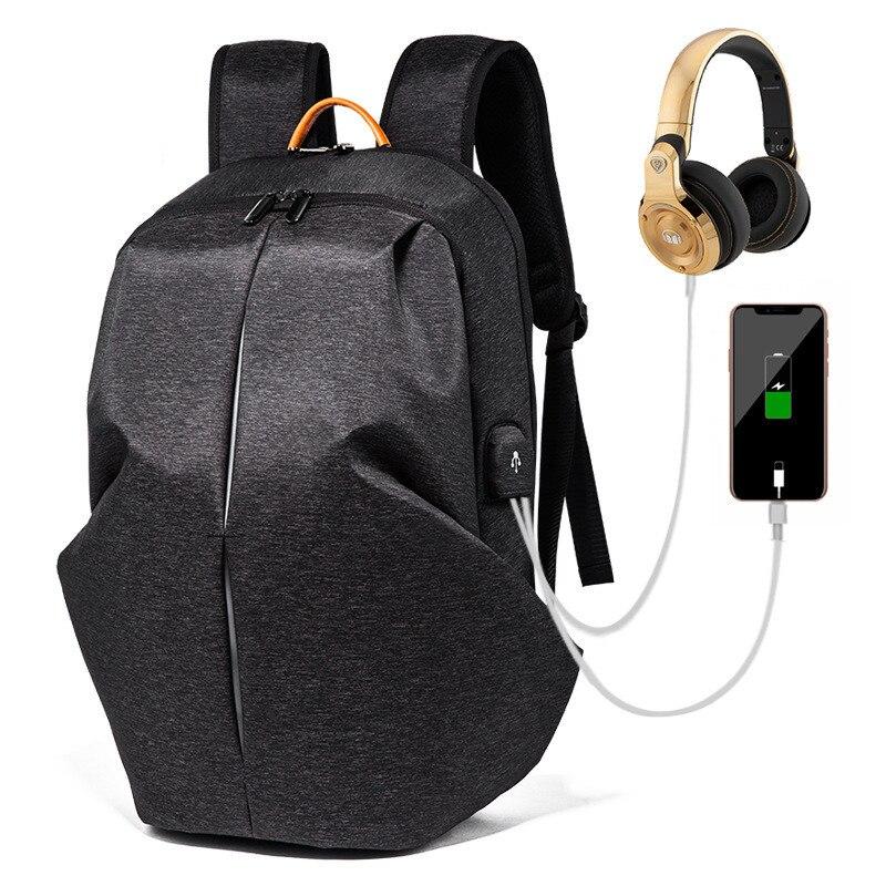 Мужской рюкзак 15,6 дюйма для ноутбука, противокражный рюкзак с Usb зарядкой, мужской школьный рюкзак для ноутбука, водонепроницаемый деловой ...