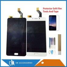Meizu Meilan M6 용 5.5 인치 블랙 화이트 컬러 6 M721H M721Q M721W LCD 디스플레이 터치 스크린 디지타이저 어셈블리 (키트 포함)