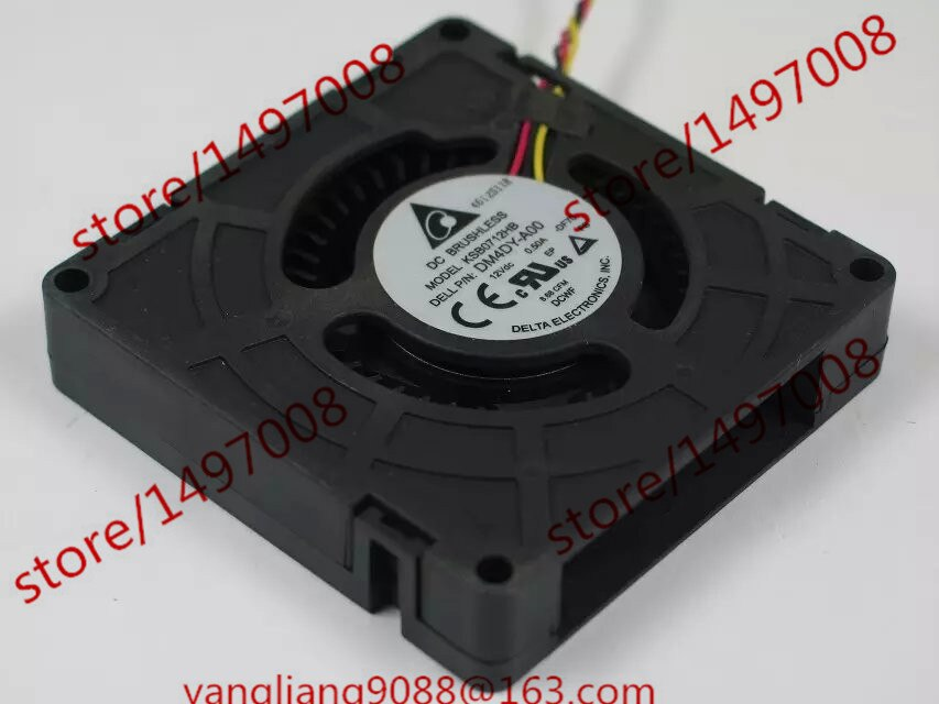 Delta Electronics KSB0712HB DF70 Dc 12V 0.50A 70X70X15Mm Server Koelventilator