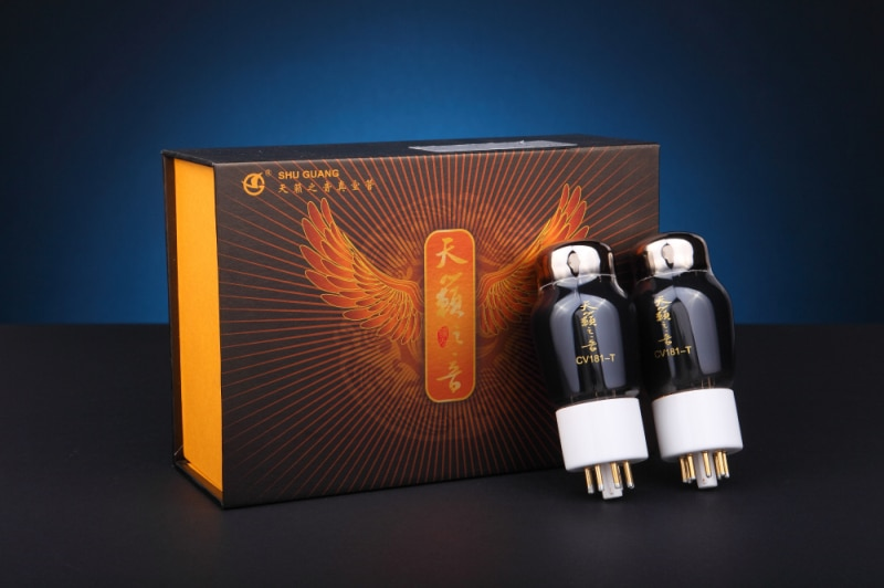 Shuguang CV181-T sonido de Tean Tube HIFI exquisis Natural Sound Factory lámpara de vacío totalmente combinada CV181/6SN7/6H8C