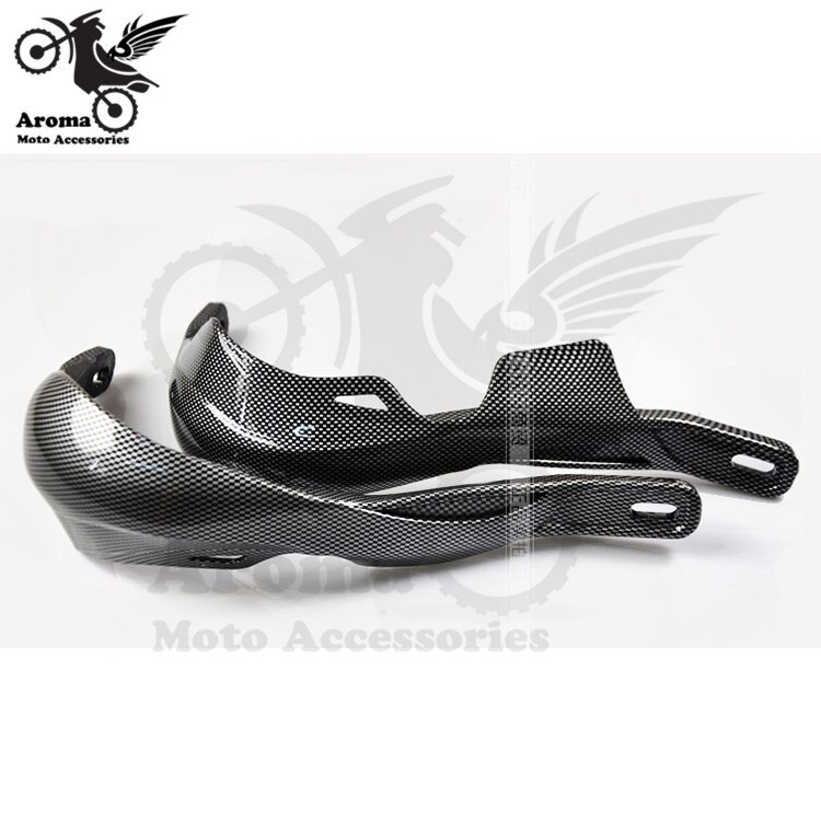 motorcycle carbon fiber exhaust pipe muffer guard protection heat shield cover for ktm exc xc sx honda suzuki yamaha kawasaki 8 colors available motorcycle handguard for yamaha  honda suzuki kawasaki KTM motocross fall protection motorbike hand guard hot