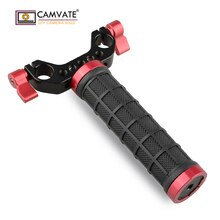 Pince de tige de stabilisateur de poignée de main de stabilisateur de caméra tenu dans la main de poignée moyenne simple C1467