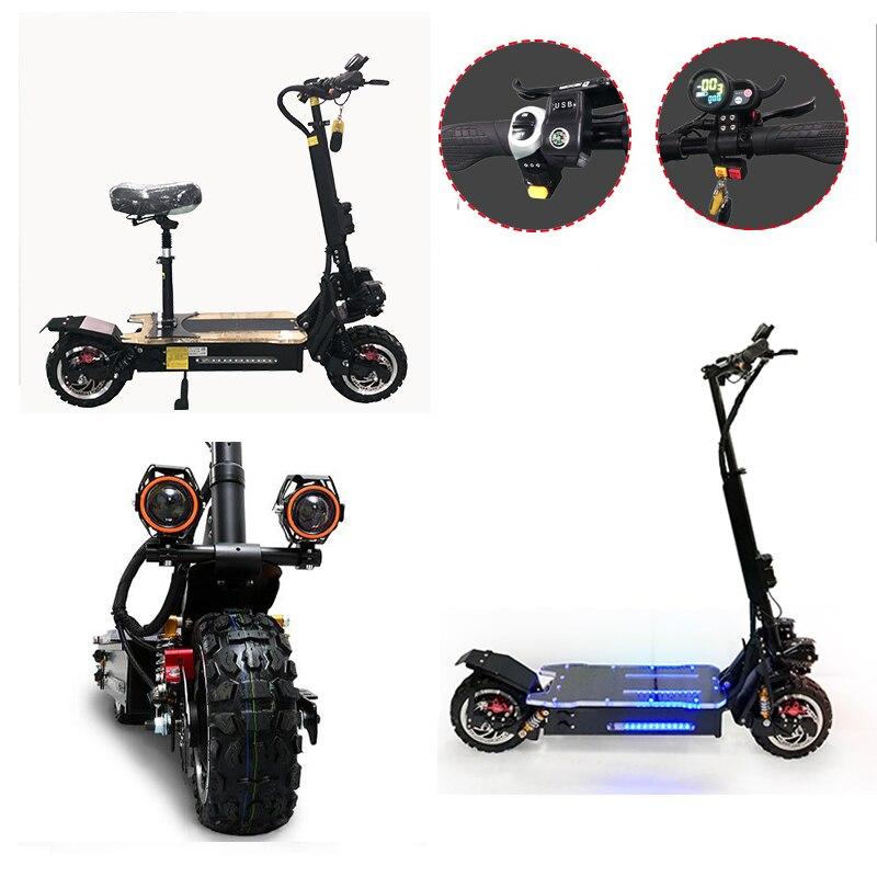 Patinete eléctrico plegable para adulto, Scooter de 11