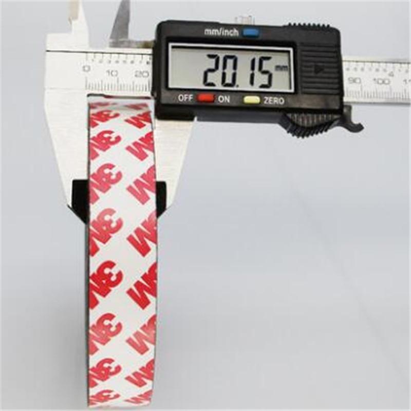 Zion 1 м 5 м 20x1,5 мм самоклеящаяся Гибкая магнитная полоса резиновая магнитная лента ширина 20 мм толщина 1,5 мм