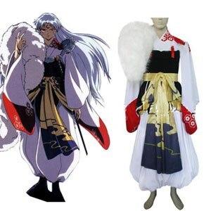 Inuyasha Sesshomaru Cosplay Costume E001