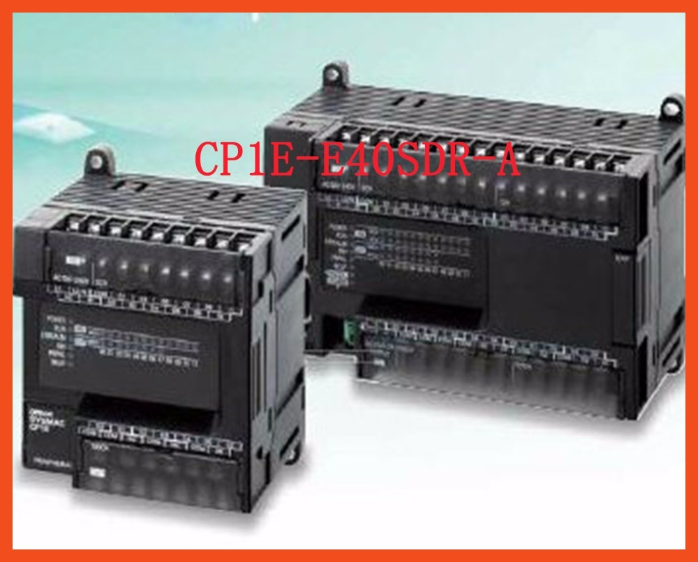 Controlador PLC CA 100-240V CP1E-E40SDR-A entradas E40SDR 24, salidas 16, relé de tipo de salida, controlador de Motor de equipo eléctrico