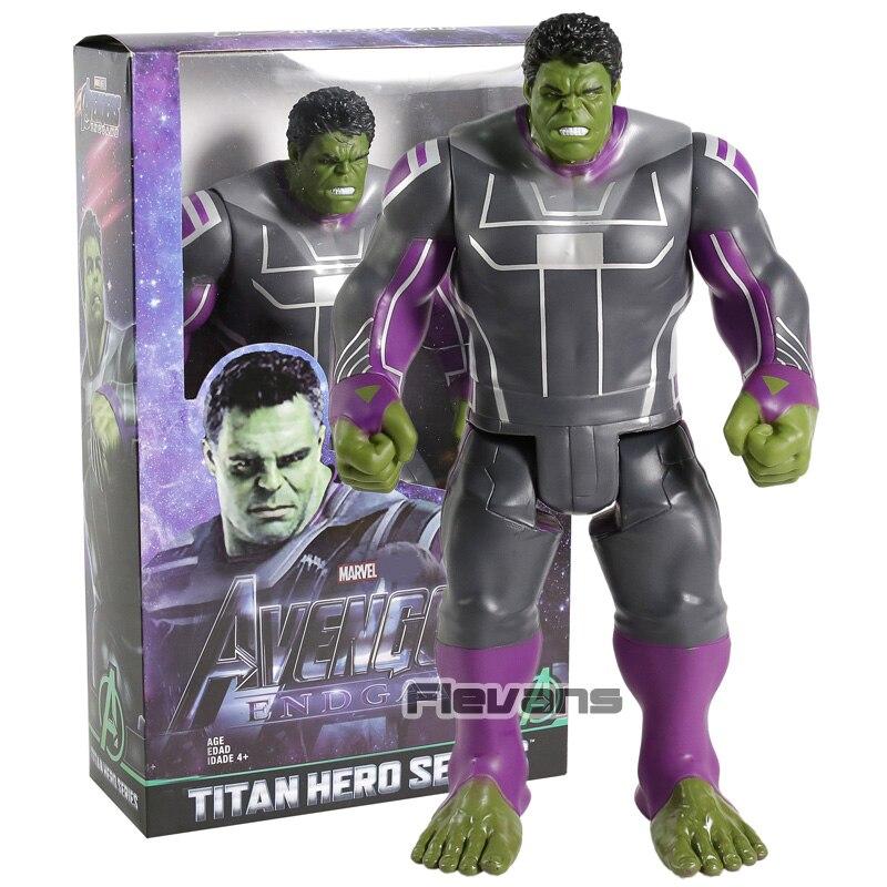 Figuras de acción de los vengadores Endgame de la serie Titan Hero, Hulk, juguete de modelos coleccionables en PVC