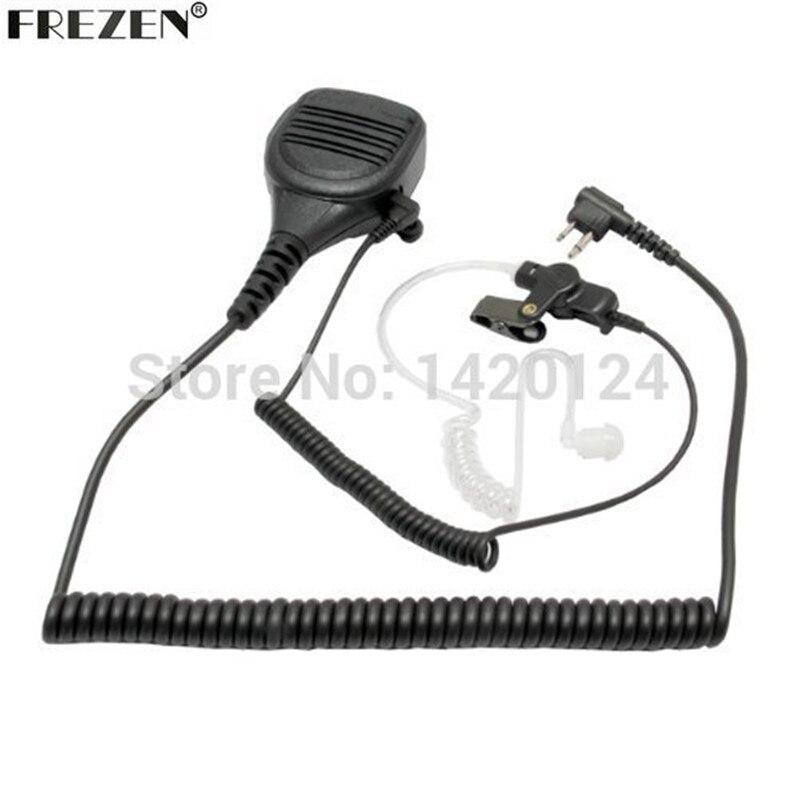 Динамик микрофон для Motorola Walkie Talkie радиоприемники GP300 CP200 XLS PR400 EP450 GTX P1225 P110 с катушки шнур наблюдения