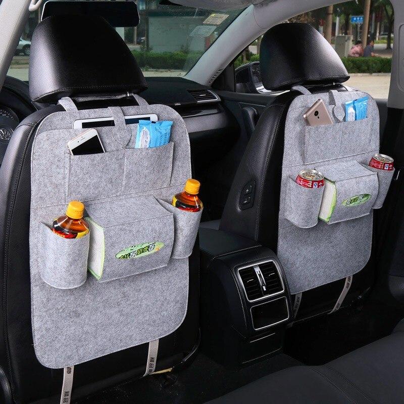 DOTAATDW 1x bolsa de almacenamiento de coche asiento de bolsillos para Peugeot 307, 206, 308, 407, 207, 3008, 406, 208, 508, 301, 2008, 408, 5008