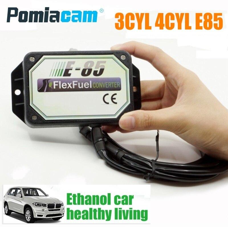 Kit de Conversion E85 3CYL 4CYL   kit déthanol pour la voiture, accessoires de modification de lessence E85 pour EV1,EV6,Delphi