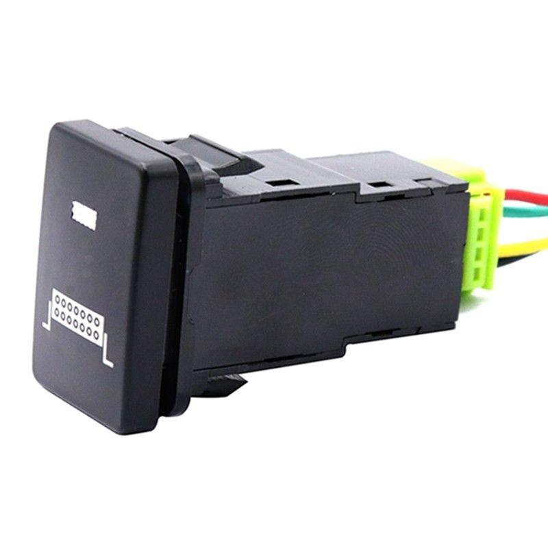 LED Illuminated Switch On/Off For T o y o t a  For RAV4 Prado 150 Landcr