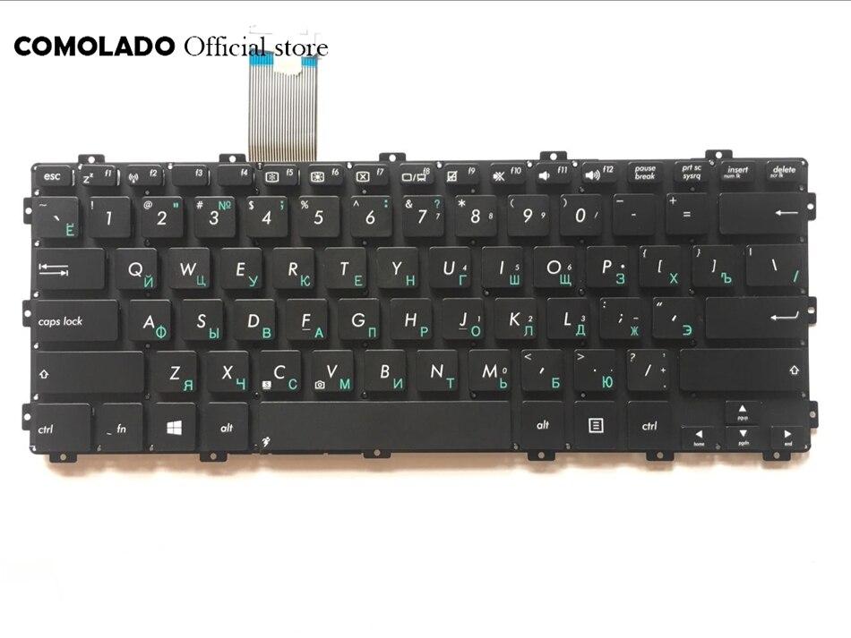 RU ruso para ASUS X301 X301S X301A X301EI X301EB X301U X301KI235A X301KB83A X301KB82A X301K1000A lBlack teclado con diseño RU