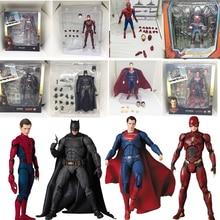 Dc Justice League Super Hero Mafex Maf Batman 056 Flash 058 Wonder Vrouw 048 Superman 057 Spiderman 047 Action Figure speelgoed Pop