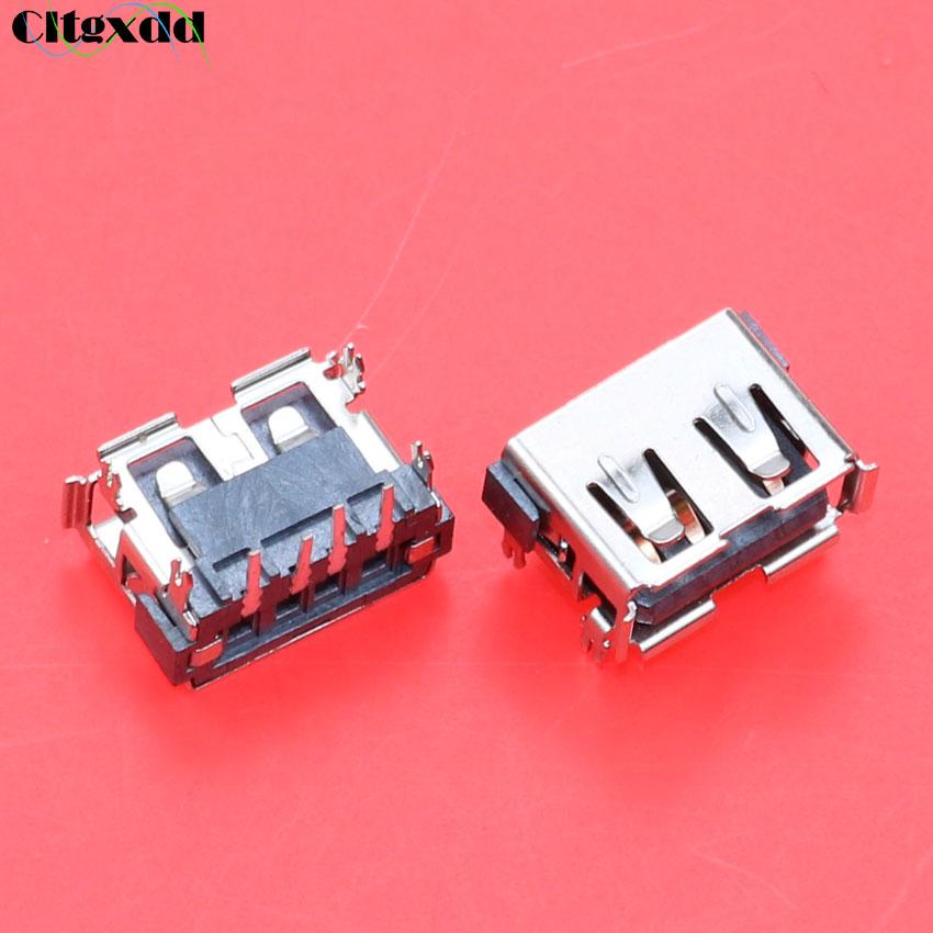 Cltgxdd 10 piezas USB 2,0 Jack Plug 4 pin hembra conector de placa base para Acer Aspire 5232 5241 5516 5517 5532 de 5541 5743Z