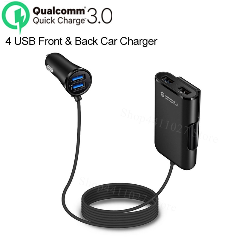 4 Порты QC 3,0 Быстрая зарядка USB аксессуары для автомобильного зарядного устройства наклейки для Lexus CT200h ES250 ES300 ES300h ES330 LS400 LS430 LS460 GX460 GX470