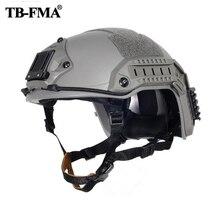 El mejor casco táctico marítimo FMA ABS negro/FG/DE Capacete Airsoft para ciclismo, envío gratis, 2019