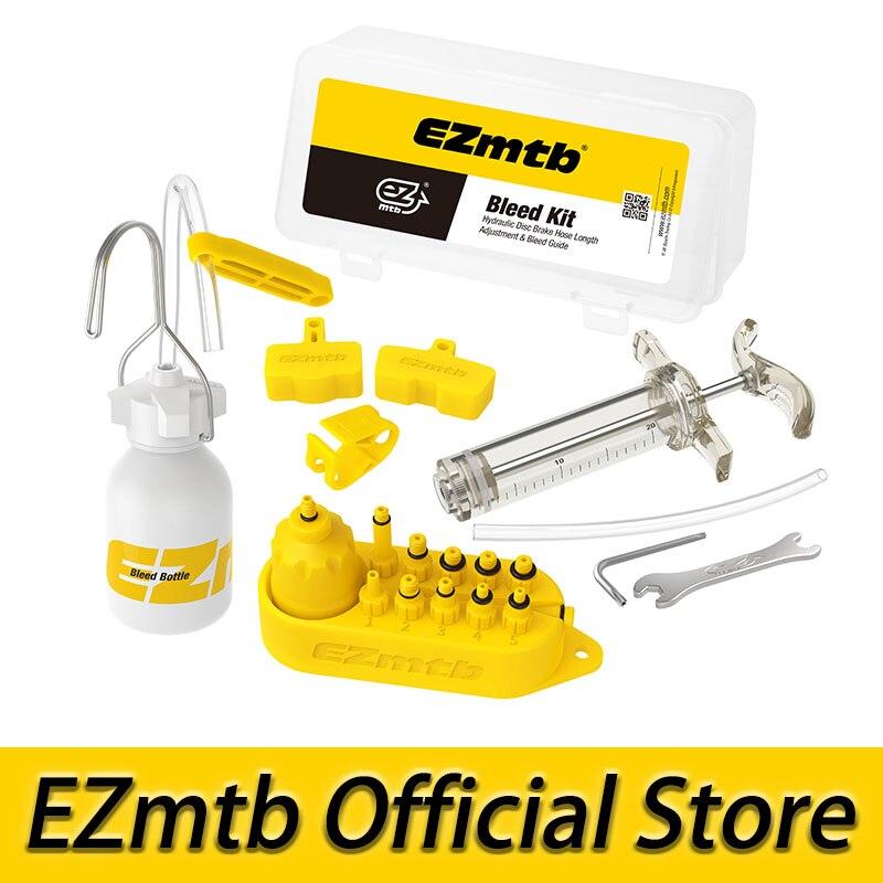 EZMTB Hidraulicos Bicicleta Sangrar Kit de Herramientas para shimano Sistema de Frenos magura tektro