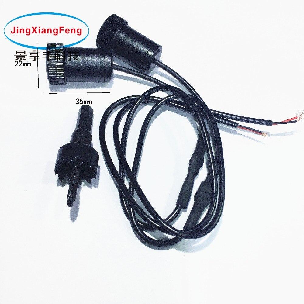 JingXiangFeng coche Láser LED proyección de luz con logotipo corona para brabus 2 uds 5W para STI para iveco auto puerta Bienvenido