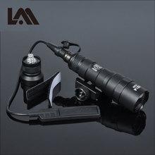 Tactique M300 M300B MINI Scout lumière extérieure fusil chasse lampe de poche 400 lumen Arme lumière LED Arme lanterne Fit 20mm Rail