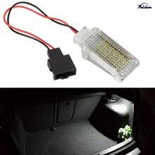 1 adet LED Bagaj Bölmesi LampTrunk Işık yedek tertibat SEAT Leon için Mk3 5F