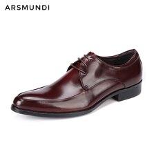 Hommes en cuir véritable robe chaussures décontracté chaussures à lacets daffaires 2019 hommes chaussures De mariage Botas De Vestir Hombre Unique chaussures