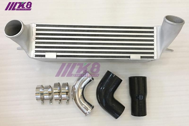 "7 ""FMK8 montaje frontal conjunto de intercooler para BMW intercambiador de N54 N55 135i 335i intercooler E82 E88 E90 E92 E93 335i 335xi 135i"