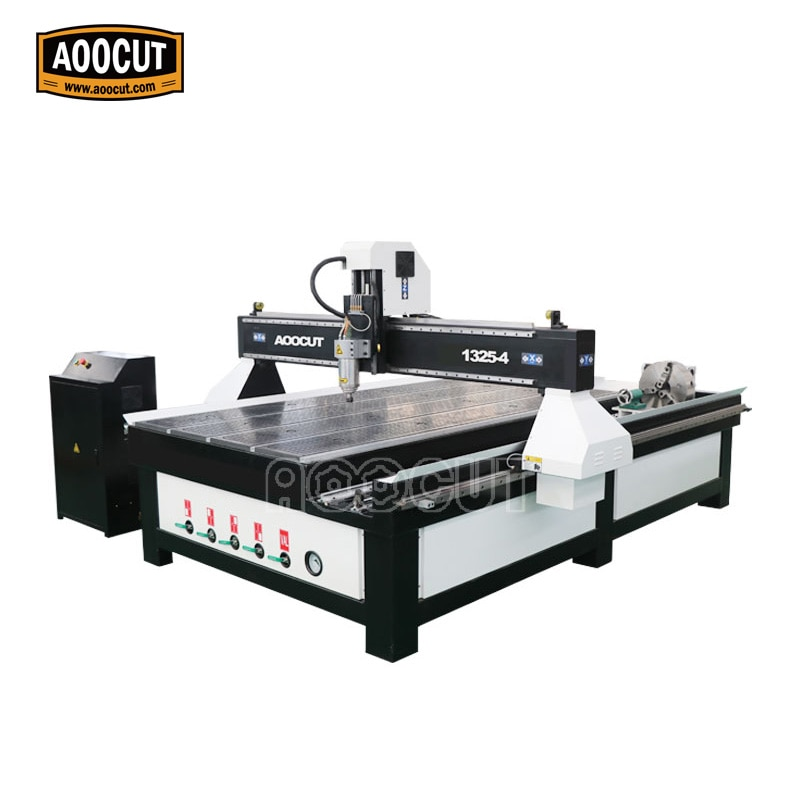 Venta caliente cnc enrutador 1325 4x8 pies cnc tallado máquina de corte para MDF aluminio