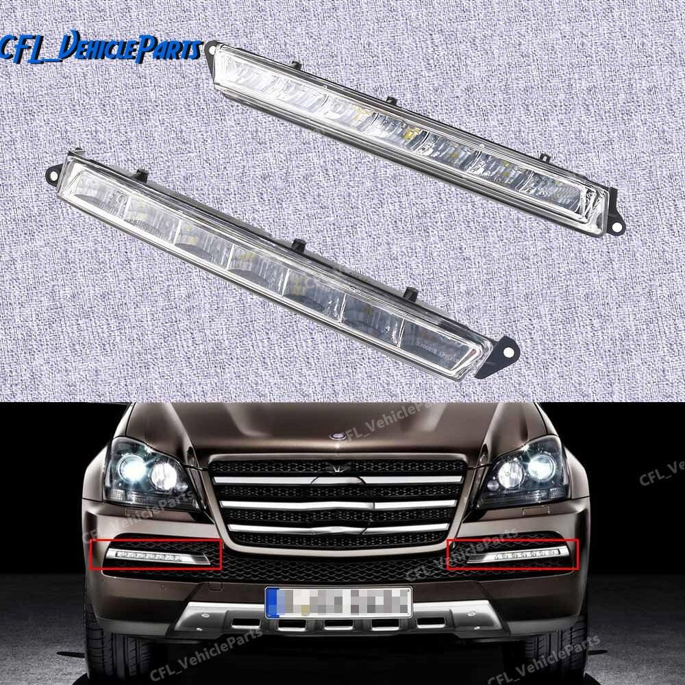 Luz LED de conducción diurna para niebla izquierda o derecha 1649060351 1649060451 para mercedes-benz X164 X166 GL320 GL350 ML63 AMG
