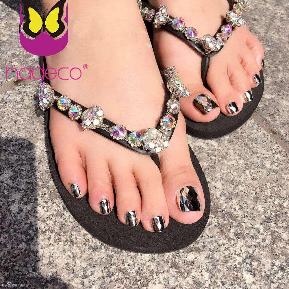 Новые модные искусственные ногти с алмазной поверхностью, рыбья чешуя, накладные ногти