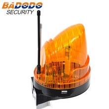 Lampe dalarme clignotant   Large tension 110V AC 220VAC 24VDC, clignotant, lumière stroboscopique, pour ouvre-porte automatique (sans son)