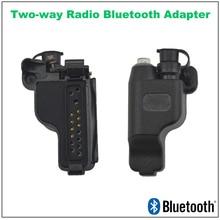 Adaptateur Radio Bluetooth bidirectionnel prise M328 pour Motorola GP328 MTX850 MTX8250 HT750 PRO5150