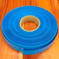 1kg lithium battery pvc heat shrink tubing skin polymer 18650 battery pvc insulation heat shrink film shrink tube blue