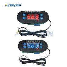 12 В постоянного тока W1308 светодиодный цифровой термостат регулятор температуры сенсор метр 10 к NTC водонепроницаемый датчик для холодильника морозильник инкубатор