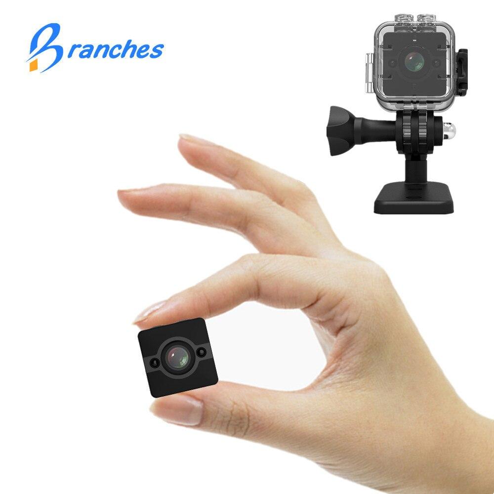 SQ12 HD 1080P Мини камера ночного видения Видеокамера Спорт Открытый Автомобильный видеорегистратор инфракрасный DV видео голос для Windows PK SQ8 SQ 11
