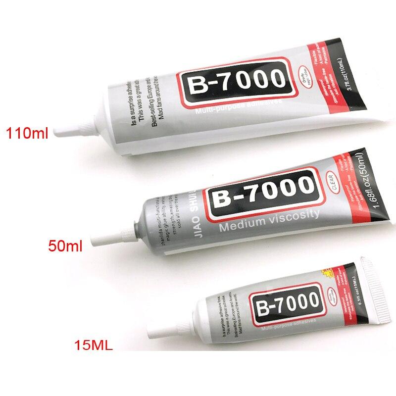 B7000 Kleber 15ml 50ml 110ml Multi Funktion Klebstoff Schmuck Epoxy Harz Diy Schmuck Handwerk Glas Touch Screen handy Reparatur