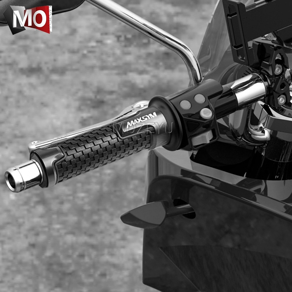 "7/8 ""22 MM accesorios de motocicleta manillar mangos manija para Sym MAXSYM 400 400i 600 600i max"