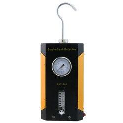 SDT-206 ferramenta diagnóstica do detector de vazamento de fumaça do carro de sistemas de tubulação incluindo evap para todos os veículos localizador de escapamento automático