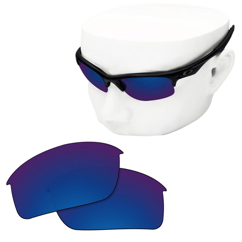 OOWLIT Polarized Replacement Lenses of Deep Water for-Oakley Bottle Rocket OO9164 Sunglasses