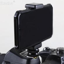 "1/4 ""Flash Hot Shoe Schroef Adapter Statief + Telefoon Clip Houder Voor Canon Nikon Sony Alle Dslr Camera"