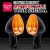 1 זוג אופנועים היגוי מנורת לפינה הפעל אותות חיווי אור קדמי ואחורי עבור ימאהה XSR900 2016 2017 16-17