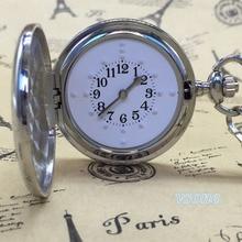Montre de poche Tactile en acier inoxydable pour personnes aveugles montre de poche montre tactile de poche