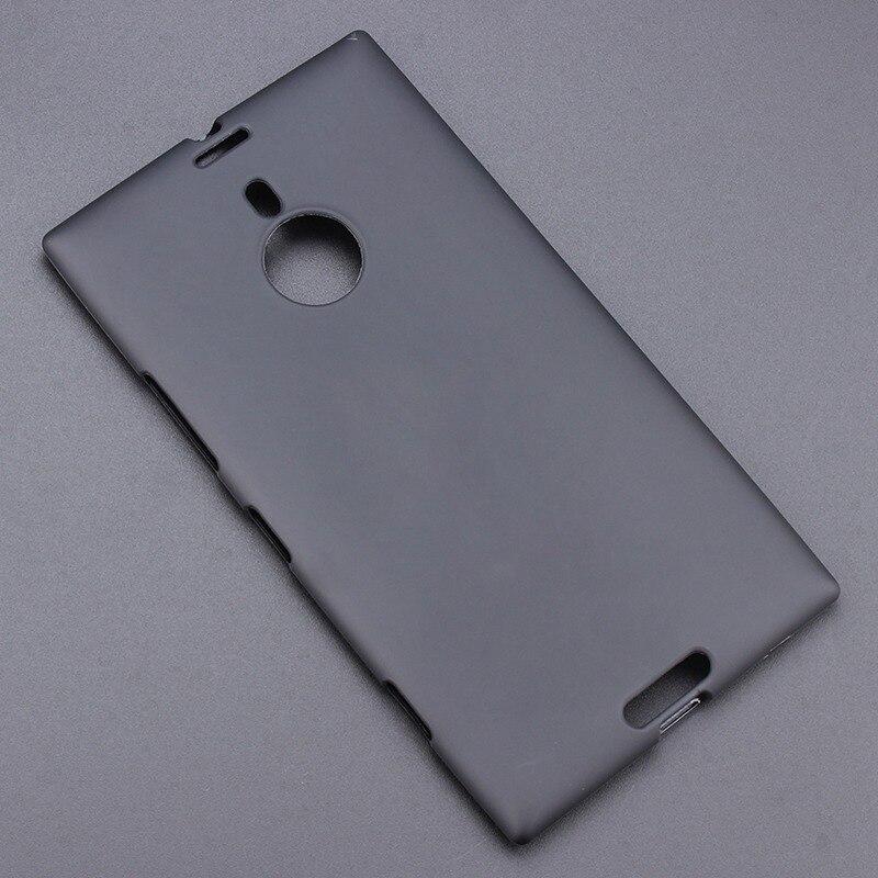 Funda trasera de Gel negro TPU suave antideslizante para Nokia 1520 Lumia...