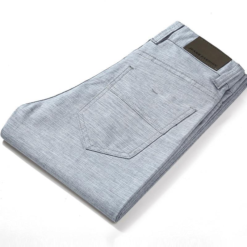 Брендовые летние высококачественные мужские льняные брюки HCXY 2021, мужские повседневные тонкие брюки, мужские брюки, Модель 38