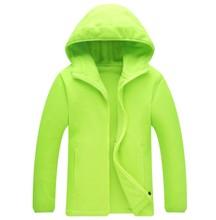 Nouveau à capuche à manches longues polaire Insede couleur bonbon vestes Softshell veste Camping randonnée Sport de plein air solide chaud vestes