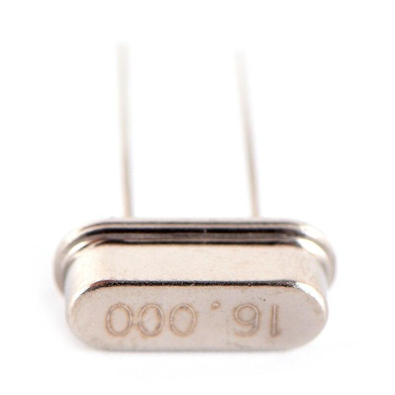 10 pcs 16 mhz do Oscilador de Cristal 16.000 mhz HC-49S 16 m HZ Cristal Oscilador Passiva Cristal 20pF