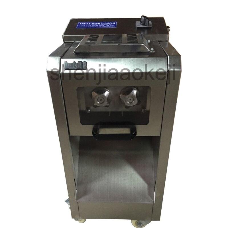 Trancheuse de viande machine de découpe de viande électrique multifonctionnelle automatique en acier inoxydable 300 kg/h machine de découpe de viande 220v 2200w 1 unité